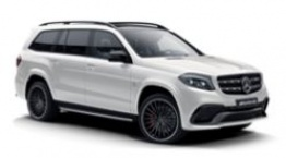 Mercedes GLS Class X166 GLS63 AMG SUV with original Mercedes Wheels