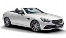 Mercedes SLC Class R172 SLC43 AMG Roadster with original Mercedes Wheels
