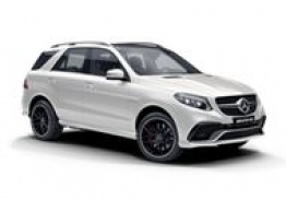 Mercedes GLE Class W166 GLE63 AMG SUV with original Mercedes Wheels