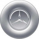 Genuine Mercedes Centre Cap Large Silver Lacquered