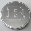 Genuine Smart Brabus Metal Centre Caps