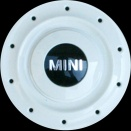 Genuine MINI R83 & R84 white centre caps