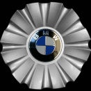 Genuine BMW 253 centre caps
