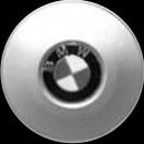 Genuine BMW 175 centre caps