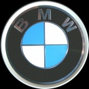 Genuine BMW Multi Spoke centre caps