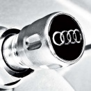 Genuine Audi Valve Dust Caps TPM version
