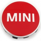 Genuine MINI Centre Cap Set Chilli Red Small