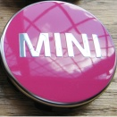 Genuine MINI Centre Cap Set Pink Small