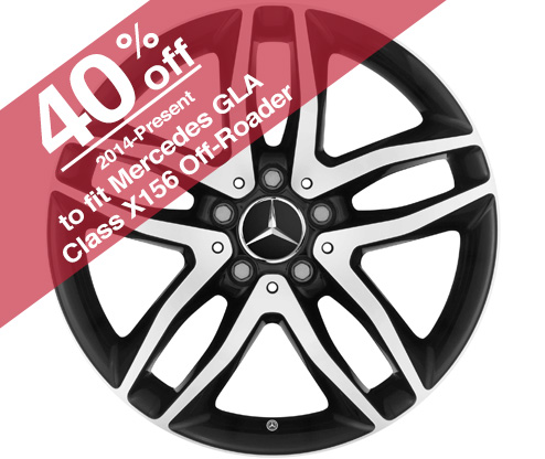 "18"" AMG Multispoke Wheels A17640102007X72 A17640107027X72"