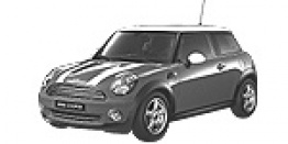 MINI R56 Hatchback / Coupé with original MINI Wheels