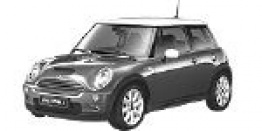 MINI R53 Cooper S / Works / GP Hatchback with original MINI Wheels