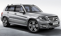 Mercedes GLK Class X204 Off-Roader with original Mercedes Wheels