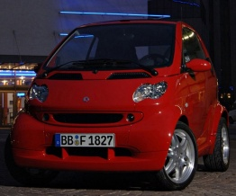Smart C450 ForTwo Coupé with original Smart Wheels