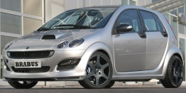 Smart W454 ForFour Hatchback with original Smart Wheels