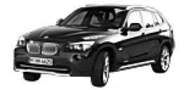 BMW X1 E84 Sports Utility Vehicle with original BMW Wheels
