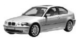 BMW 3 Series E46/5 Compact / Hatchback with original BMW Wheels