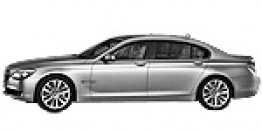 BMW 7 Series F02 Saloon Long Wheelbase with original BMW Wheels