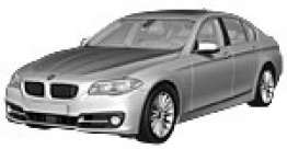 BMW 5 Series F10 Saloon with original BMW Wheels