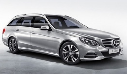 Mercedes E Class S212 Estate with original Mercedes Wheels