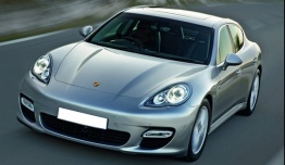 Porsche Panamera G1 970 Gen 1 with original Porsche Wheels