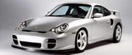 Porsche 911-996 Gen 2 GT2 with original Porsche Wheels