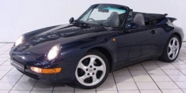 Porsche 911-993 Carrera Cabriolet with original Porsche Wheels