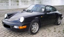 Porsche 911 1984-1986 with original Porsche Wheels