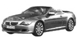 BMW 6 Series E64 Convertible with original BMW Wheels