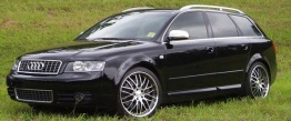 Audi A4 (B6/PL46) 8E Saloon / Avant with original Audi Wheels