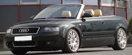 Audi A4 (B6/PL46) 8H Cabriolet with original Audi Wheels