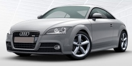 Audi TT/TTS (A5/PQ35) 8J Coupé / Roadster with original Audi Wheels