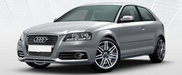 Audi A3 (A5/PQ35) 8P Hatchback / Sportback with original Audi Wheels
