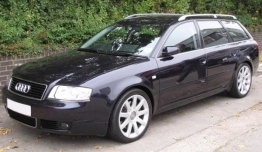 Audi A6 (C5) 4B Saloon / Avant with original Audi Wheels