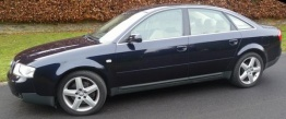Audi S6 (C5) 4B Saloon / Avant with original Audi Wheels