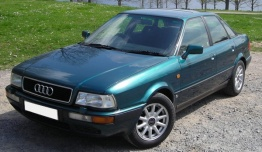 Audi 80/90 (B4) 8C Coupé / Cabriolet / Saloon / Avant with original Audi Wheels