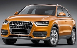 Audi Q3 (A5/PQ35) 8U with original Audi Wheels