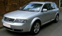 Audi A6 (C5) 4Z Allroad with original Audi Wheels