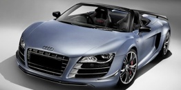 Audi R8 42 GT Spyder with original Audi Wheels