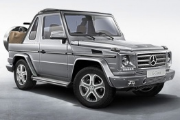 Mercedes G Class A463 Cross Country Convertible with original Mercedes Wheels