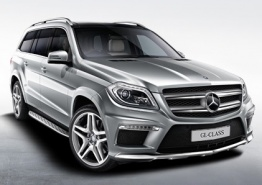 Mercedes GL Class X166 Off-Roader with original Mercedes Wheels