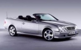Mercedes CLK Class A208 Convertible with original Mercedes Wheels