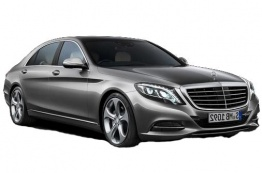 Mercedes S Class V222 Saloon LWB with original Mercedes Wheels