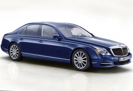 Mercedes Maybach W240 57 Saloon with original Mercedes Wheels