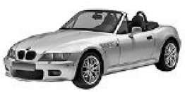 BMW Z3 E36 Roadster with original BMW Wheels