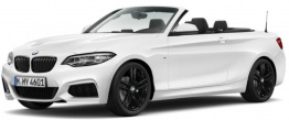 BMW 2 Series F23 Convertible with original BMW Wheels