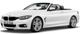 BMW 4 Series F33 Convertible with original BMW Wheels