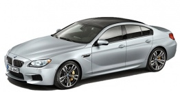 BMW 6 Series F06 M6 Gran Coupé with original BMW Wheels