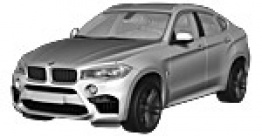 BMW X6M F86 Sports Activity Coupé with original BMW Wheels