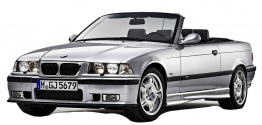 BMW 3 Series E36 M3 Convertible with original BMW Wheels