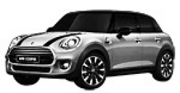 MINI F55 Hatchback 5 Door with original MINI Wheels